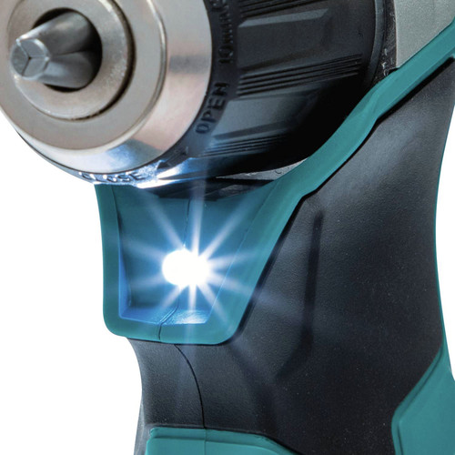 Makita AD04R1 12V max CXT Lithium-Ion 3/8 in. Cordless Right Angle Drill Kit (2 Ah) image number 4