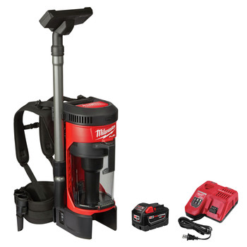 Milwaukee 0885-21HD M18 FUEL 3-in-1 Backpack Vacuum High Demand Kit