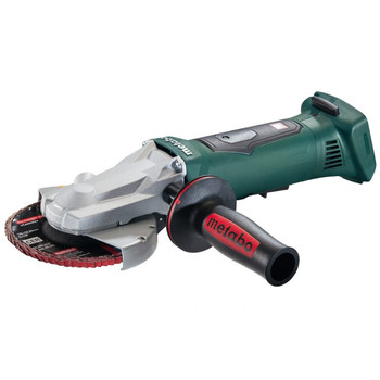 Metabo 613070860 18V Cordless Lithium-Ion 5 in. Flat Head Angle Grinder (Tool Only) image number 0