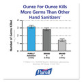 PURELL 1903-02 Advanced Green Certified Hand Sanitizer Refill, 1200ml, Fragfree, 2/carton image number 3