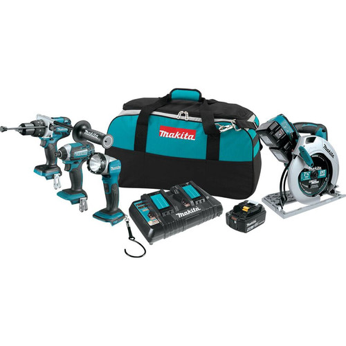 Makita XT443PM X2 (36V) LXT Lithium-Ion 4-Piece Combo Kit