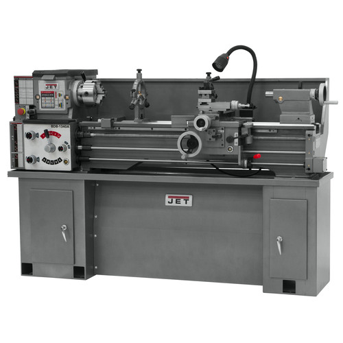 JET 321120 Belt Drive Bench Metal Lathe with Taper Attachment image number 0