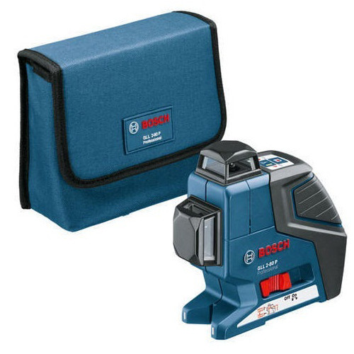 Factory Reconditioned Bosch GLL2-80-RT Dual Plane Leveling Laser