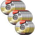 Makita B-46165-25 5 in. x .032 in. x 7/8 in. Ultra Thin Cut-Off Grinding Wheel (25-Pack)
