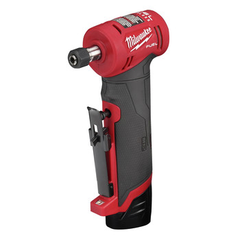 Milwaukee 2485-22 M12 FUEL Lithium-Ion Right Angle Die Grinder Kit (2 Ah) image number 2
