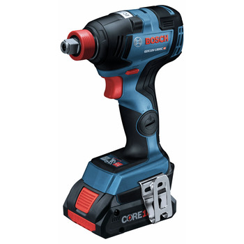 Bosch GDX18V-1800CB25 Freak 18V EC Brushless Connected 1/4 in. and 1/2 in. 2-in-1 Bit/Socket Impact Driver Kit with CORE18V 4.0 Ah Compact Batteries image number 1