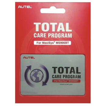 Autel MS906BT1YRUPDATE MaxiSYS MS906BT 1 Year Total Care Program Card