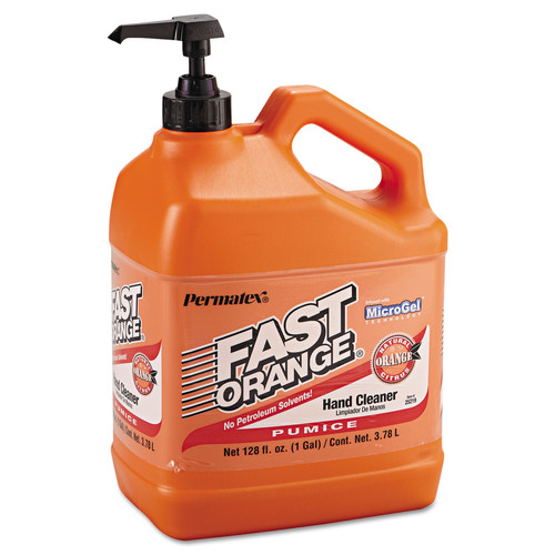 Devcon 25219 1 Gallon Bottle Fast Orange Pumice Lotion Hand Cleaner image number 0