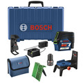 Bosch GCL100-80CG 12V Green-Beam Cross-Line Laser with Plumb Points