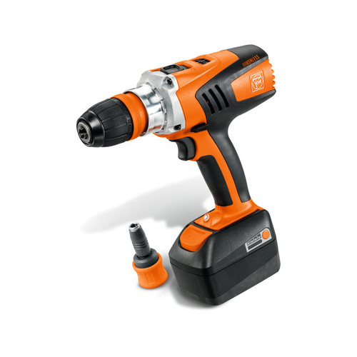 Fein ASCM 14 QX 14V Brushless Cordless Lithium-Ion Drill Driver with Interchangeable Chuck