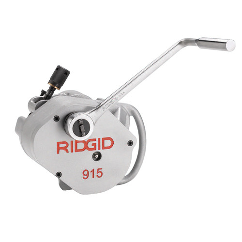 Ridgid 915 In-Place Roll Groover with 2 - 6 in. Schedule 10 Roll Set image number 0