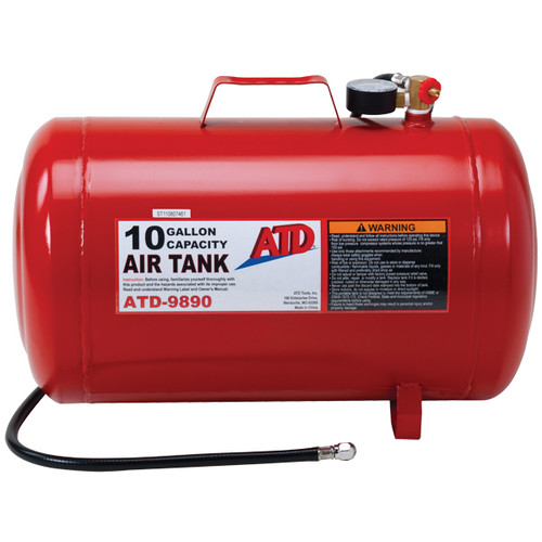 ATD 9890 10 Gallon Portable Air Tank image number 0
