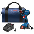 Factory Reconditioned Bosch GDX18V-1600B12-RT 18V 1/4 In. and 1/2 In. Two-In-One Socket-Ready Impact Driver Kit image number 0