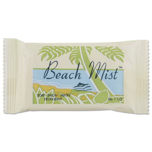 Beach Mist NO1.5 Face And Body Soap, Beach Mist Fragrance, #1 1/2 Bar, 500/carton image number 0