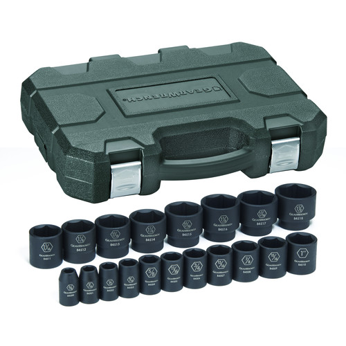 GearWrench 84932N 19-Piece SAE 1/2 in. Drive Impact Socket Set