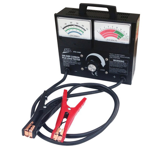 ATD 5489 500 Amp Variable Load Carbon Pile Battery Tester image number 0