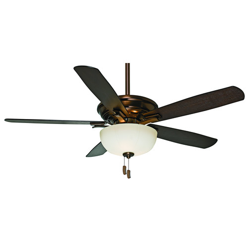 Casablanca 54080 Academy Gallery 54 in. Transitional Bronze Patina Burnt Walnut Indoor Ceiling Fan