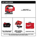 Milwaukee 2737-21 M18 FUEL D-Handle Jig Saw Kit image number 11