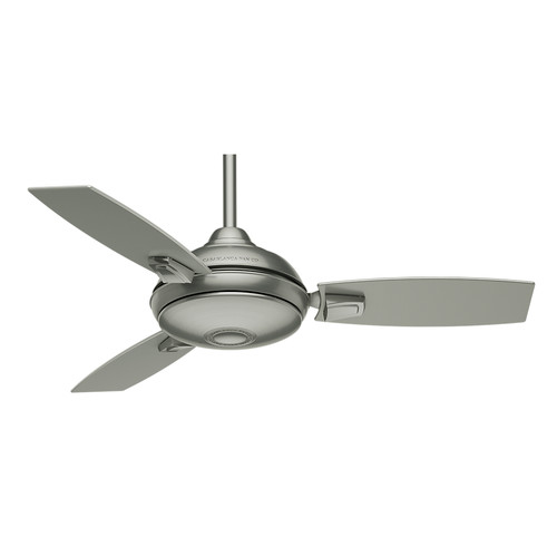 Casablanca 59155 44 in. Verse Satin Nickel Ceiling Fan with Light and Remote image number 1