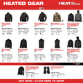 Milwaukee 232B-21L M12 Heated Women's Softshell Jacket Kit - Black, Large image number 11