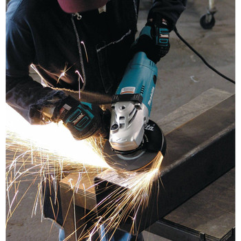 Factory Reconditioned Makita GA7021-R 7 in. Trigger Switch 15 Amp Angle Grinder image number 1
