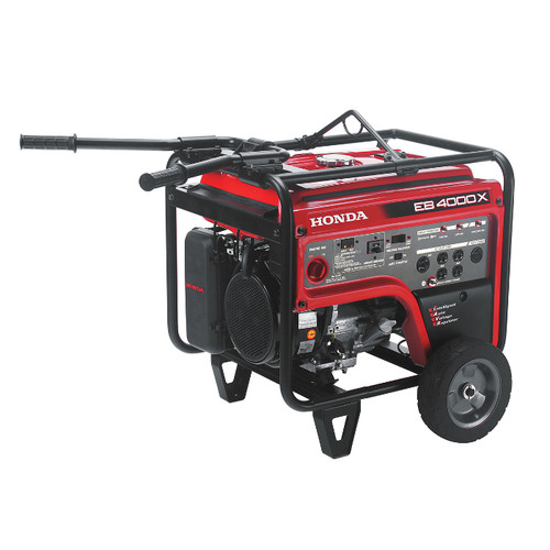 Honda EB4000 4,000 Watt Industrial Portable Generator with iAVR Technology (CARB)