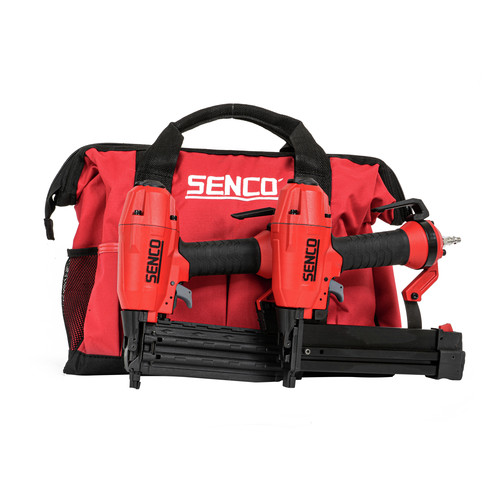 SENCO 11C0001N FinishPro 18 Gauge 2 in. Brad Nailer and 1/4 in. Crown Finish Stapler Combo Kit image number 0