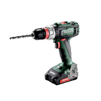 Metabo 602320520 18V BS 18 L Quick Lithium-Ion 3/8 in. Cordless Drill Screwdriver (2 Ah) image number 1