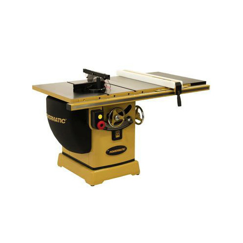Powermatic PM25350WK 2000B Table Saw - 5HP/3PH 230/460V 50 in. RIP with Accu-Fence and Workbench image number 0