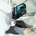 Makita SK105GDNAX 12V max CXT Lithium-Ion Cordless Self-Leveling Cross-Line Green Beam Laser Kit (2 Ah) image number 8