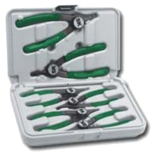 SK Hand Tool 7780 6-Piece Convertible Cam-Lock Retaining Ring Plier Set