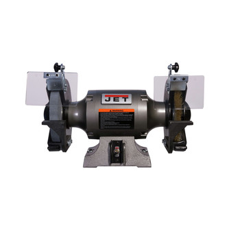 JET 577128 JBG-8W Shop Grinder with Grinding Wheel and Wire Wheel