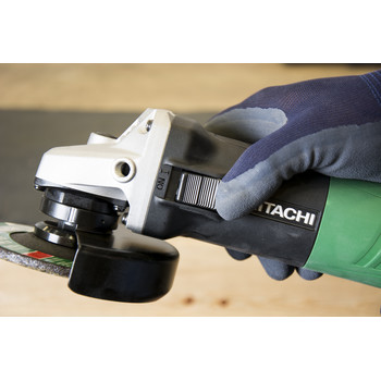 Factory Reconditioned Hitachi G12SR4 Hitachi G12SR4 4 1/2 in. Angle Grinder - 6.2 Amp image number 3
