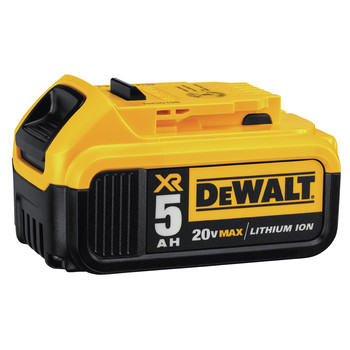 Dewalt DCB205-2 20V MAX XR Premium 5 Ah Lithium-Ion Battery (2-Pack) image number 1