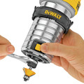 Dewalt DWP611 1-1/4 HP Variable Speed Premium Compact Router with LED image number 4