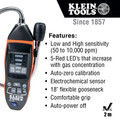Klein Tools ET120 Cordless Combustible Gas Leak Detector Kit image number 7