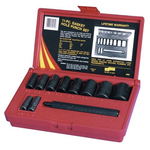 Kastar 950 11-Piece Gasket Hole Punch Set image number 0