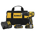 Dewalt DCD709C2 ATOMIC 20V MAX Compact Brushless Lithium-Ion 1/2 in. Hammer Drill Kit