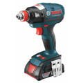 Factory Reconditioned Bosch IDH182-02-RT 18V Cordless Lithium-Ion Brushless Socket Ready Impact Driver Kit with Soft Case image number 7