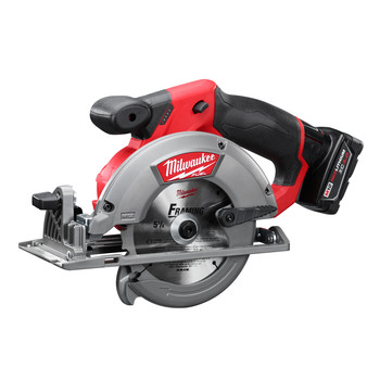 Milwaukee 2530-21XC M12 FUEL Li-Ion 5-3/8 in. Circular Saw Kit with XC Battery image number 1