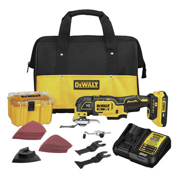 Factory Reconditioned Dewalt DCS356D1R 20V MAX XR Brushless Lithium-Ion 3-Speed Cordless Oscillating Multi-Tool Kit (2 Ah)