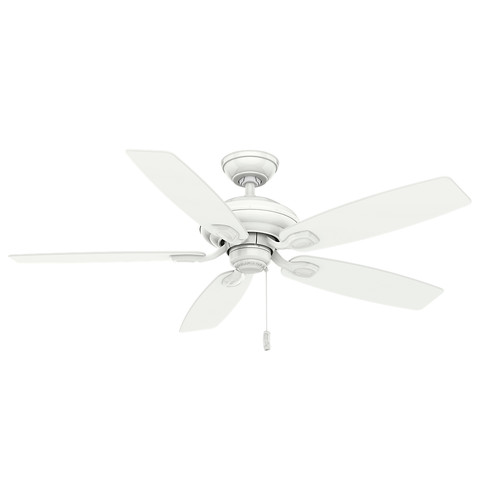 Casablanca 54037 52 in. Utopian Snow White Ceiling Fan image number 0