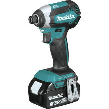 Factory Reconditioned Makita XDT131-R 18V LXT 3.0 Ah Cordless Lithium-Ion Brushless Impact Driver Kit image number 1