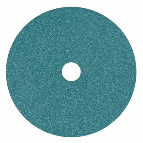 Metabo 656364000-25 7 in. ZA80 Resin Fiber Closed Coat Abrasive Discs (25-Pack)