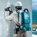 Makita XCV18PTX 18V X2 (36V) LXT Brushless Lithium-Ion Cordless 1.6 Gallon HEPA Filter Backpack Dry Dust Extractor AWS Capable Kit (5 Ah) image number 6
