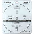 Makita B-66999 12 in. 80T Carbide-Tipped Max Efficiency Miter Saw Blade image number 4