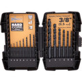 Bostitch BSA1S14BM 14-Piece Black Oxide Drill Bit Set
