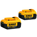 Dewalt DCB204-2 20V MAX XR 4 Ah Lithium-Ion Battery (2 Pc)