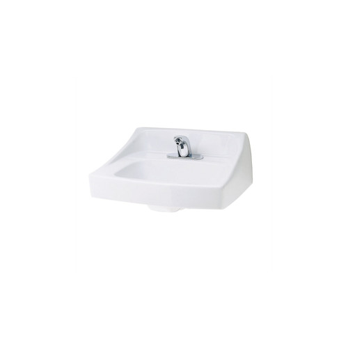 TOTO LT307#01 Wall Mount Vitreous China 20.88 in. x 18 in. Rectangular Bathroom Sink (Cotton White)