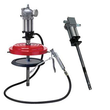 ATD 5289 Air Operated High-Pressure Grease Pump for 50 lbs. Drums